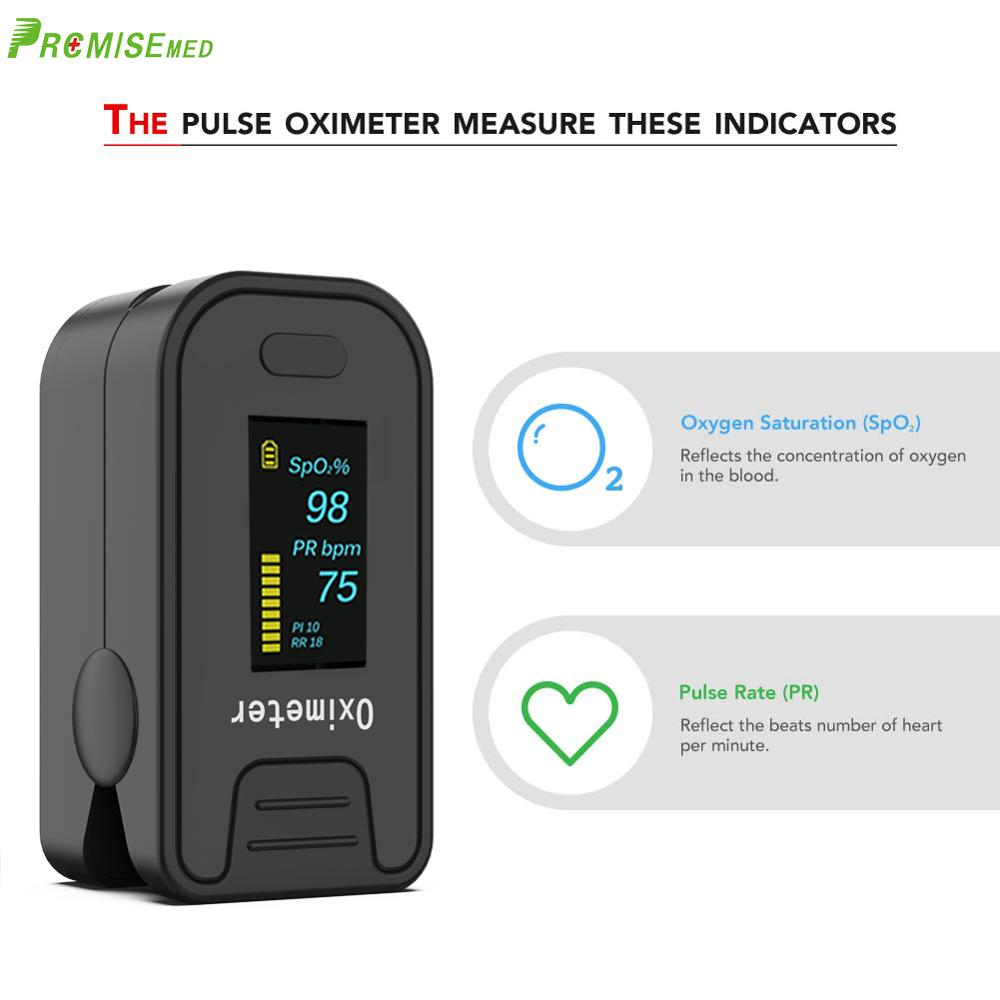 Image 2 - PRO M130 Finger Pulse Oximeter,For Medical And Daily Sports,Pulse Heart Rate Blood Oxygen SPO2 Saturation Monitor,OLED displayBlood Pressure   -