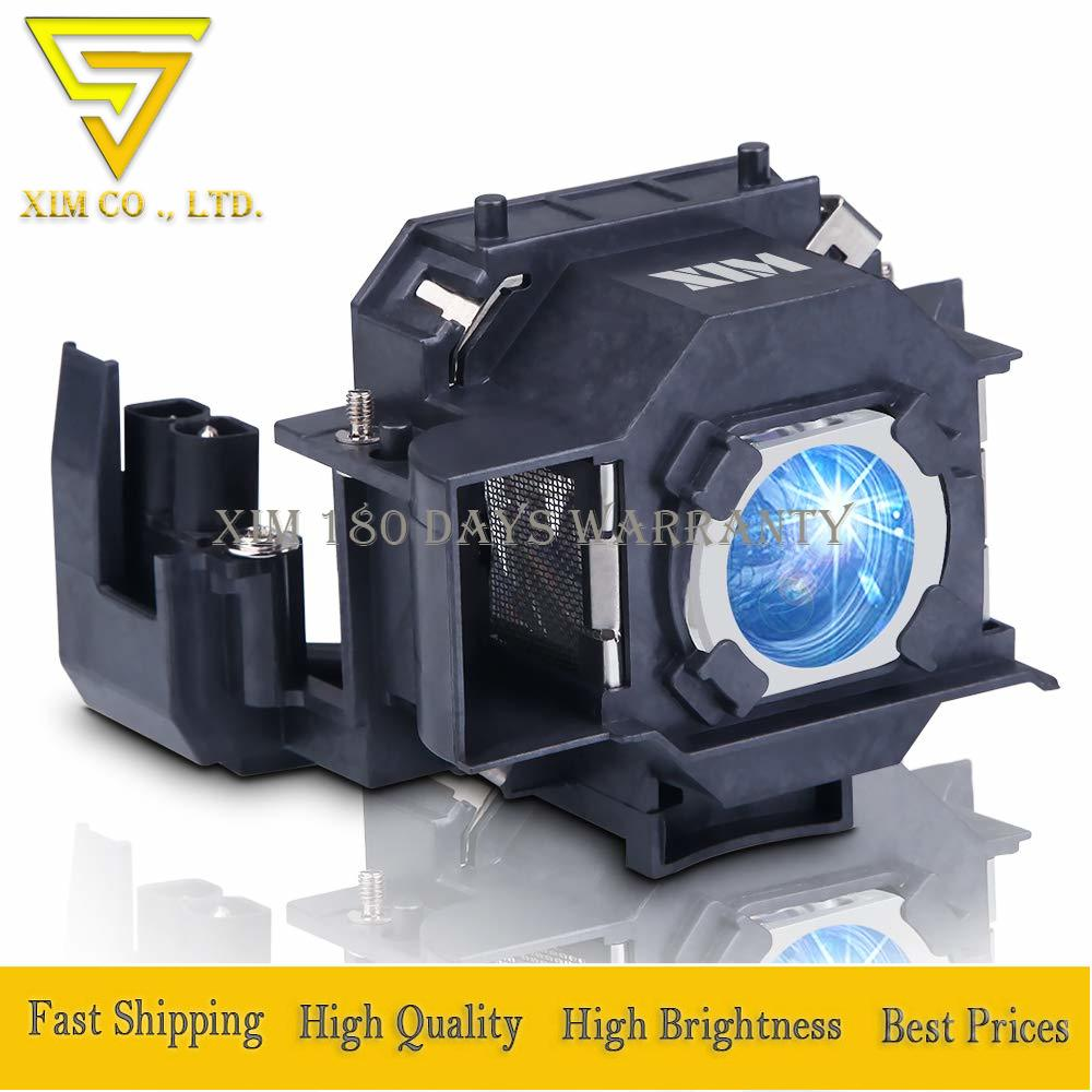 ELPLP34/V13H010L34 Replacement Projector Lamp For Epson PowerLite 62C 76C 82C EMP-62 EMP-62C EMP-63 EMP-76C EMP-82 EMP-X3