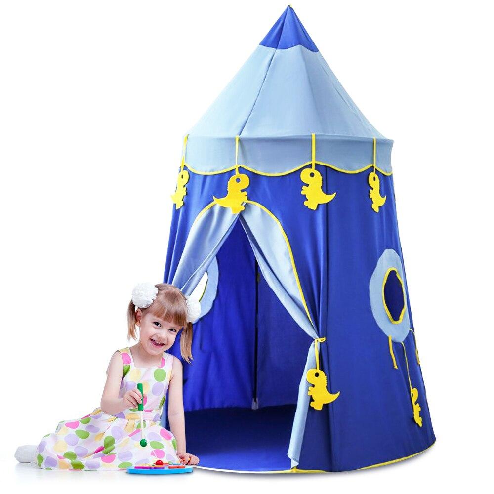 Enfants jouer Tente garçon filles jouer maison enfants Tente Enfant Portable bébé jouer maison Tipi enfants fleurs petite maison