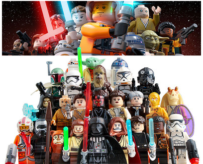 Building Blocks Star Wars 25 Character Building Blocks Science Fiction Movies Models Gifts For Children Free Shipping