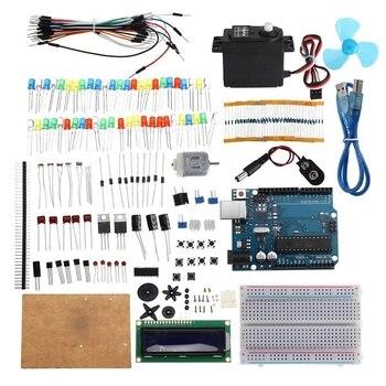 KW AR Start Kit DC MotorTest Board Components for Arduino UNO R3