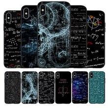 Coque noire pour iPhone, compatible modèles 6, 6S Plus, 7, 8, 11, XR, XS Max, 5, 5s, SE 2020