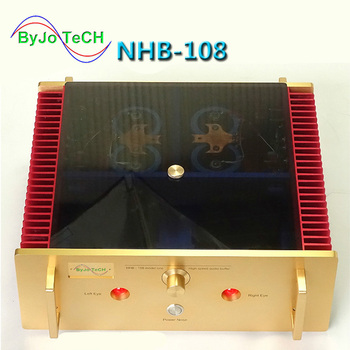 NHB-108 Power Amplifier 140W*2 8ohm OFC Super pure Copper Transformer Best Sound After-stage power amplifier