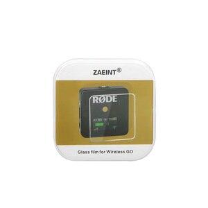 Image 3 - Zaeint szkło hartowane 2 sztuki dla Rode Wireless go mikrofon ochronne szkło hartowane na ekran Film szklany Film dla Rode Wireless Go