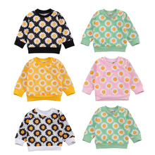 Sweatshirts Baby-Girls Infant Newborn Winter Floral 0-24months Pullover Tops Long-Sleeve