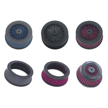 цена на Motorcycle Replacement Air Cleaner Intake Filter System Inner Element for RSD Venturi Turbine Clarity Blunt Air Cleaners Harley