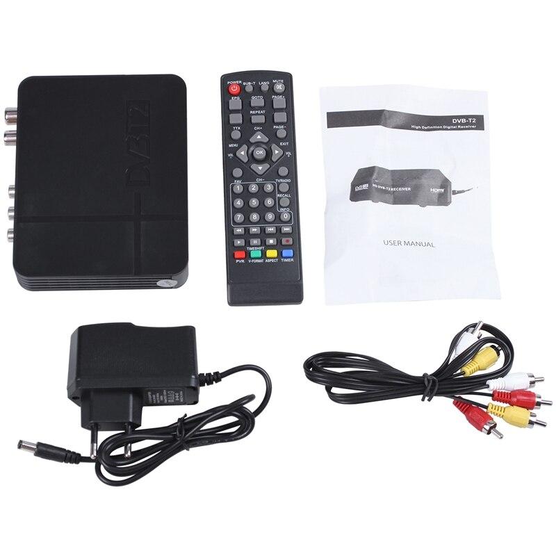 Full HD 1080P K2 DVB-T2 Terrestrial Digital TV STB