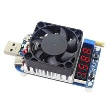 Probador USB HD25 HD35 QC2.0 QC3.0, resistencia de carga electrónica, descarga de batería, medidor de capacidad, prueba de voltaje de corriente ajustable 35w