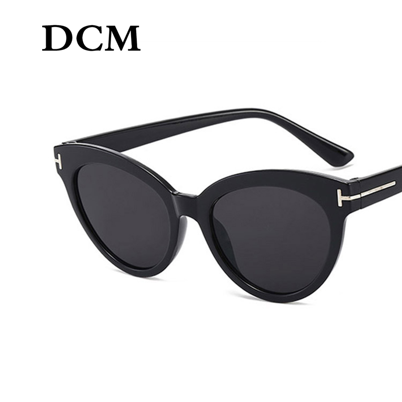 DCM New Women Cateye Vintage Brand Designer Retro Sun Glasses Superstar Female Lady Eyeglass Cat Eye Sunglasses
