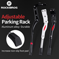 ROCKBROS Fahrrad Bike Ständer Kick Rennrad Parkplatz MTB Racks Side Kick Ständer Fuß Einstellbar 36-40,5 cm Fahrrad zubehör