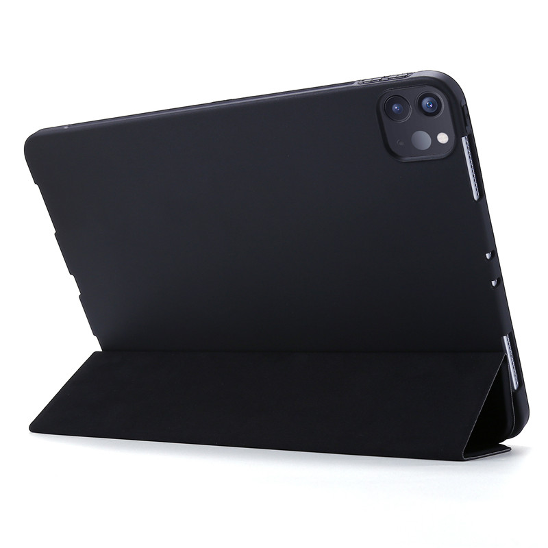 11Pro Smart PU Soft Silicone iPad For Case Tri-fold Leather Case 2020 Case For Cover