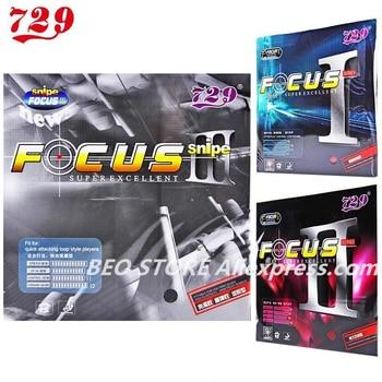 Friendship 729 Focus III 1/2/3  Snipe Table Tennis Rubber Pips-In Original FOCUS Ping Pong Sponge