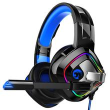 A66 PS4 Gaming Headset Casque Wired 4D Stereo Earphones Headphones with Microphone for New Xbox One Laptop Tablet Gamer cheap centechia Dynamic 100dB None 2 2m For Internet Bar for Video Game Common Headphone Line Type Sealed 50mm 32Ω 20-20000Hz