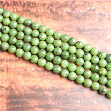Plus jade Natural Stone Beads Loose Stone Beads For Jewelry Making DIY Bracelets Necklace Accessories 4/ 6/8/10mm