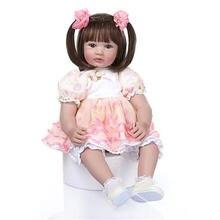 """24 """"модель младенческой полное тело Возрожденный силикон"""