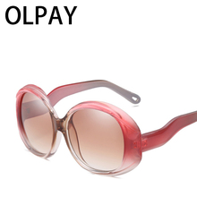 Luxury Brand Designer Sun Glasses  Women Fashion Square Oversized Sunglasses Polarized