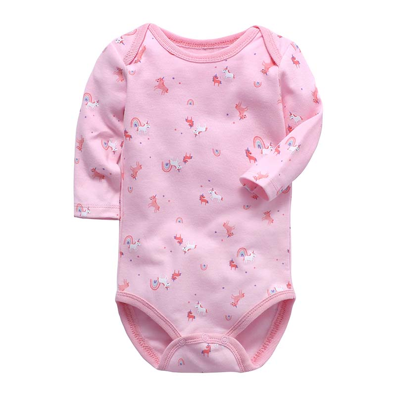 Baby Bodysuits Turn down Collar Long Sleeve Baby Clothes Winter Infant Overalls Newborn Baby Boy Girl