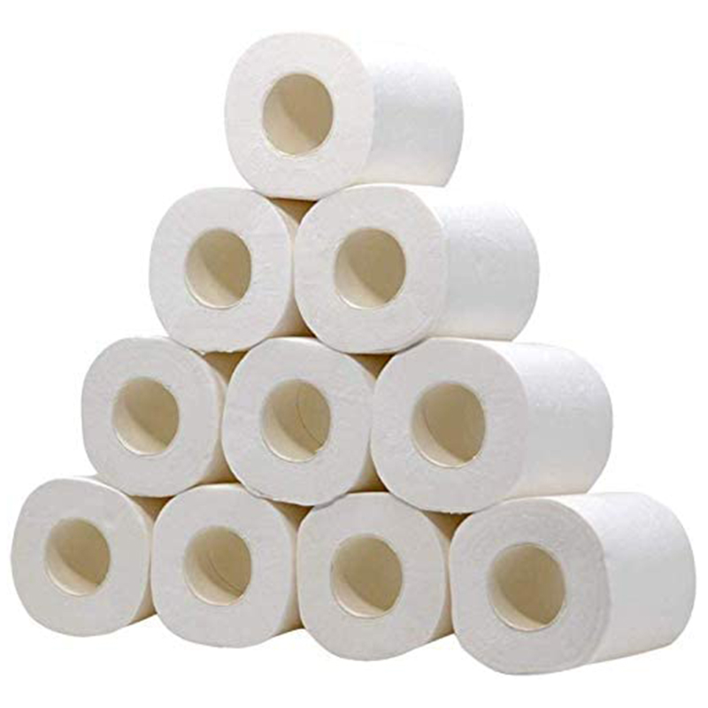 20 Rolls Of Thick Toilet Paper Toilet Paper, Embossed Three-Layer Toilet Paper Roll Of Toilet Paper (80 G / Roll)