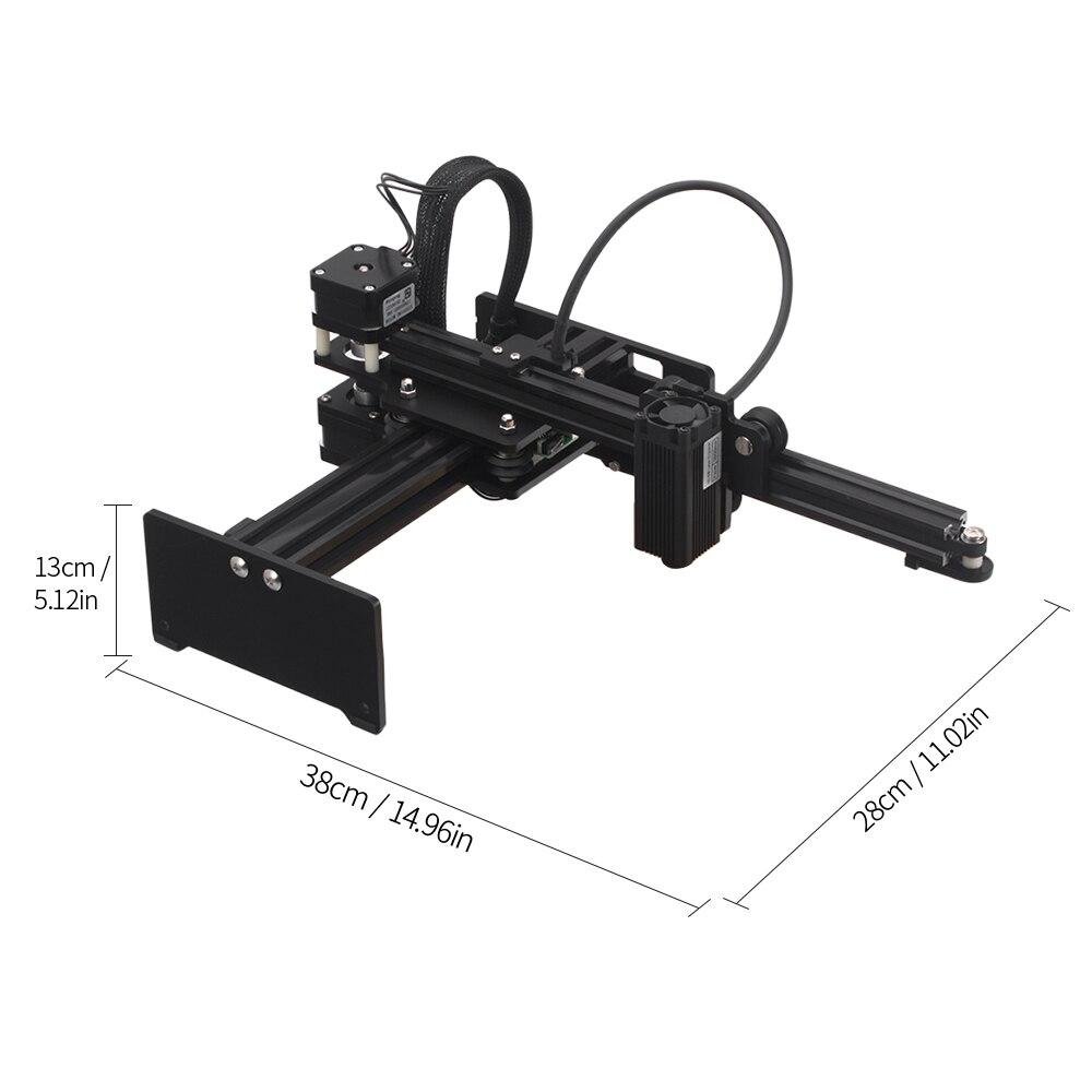 KKMOON CNC Desktop 3500mW/7000mW/20000mW Laser Engraving Machine 1