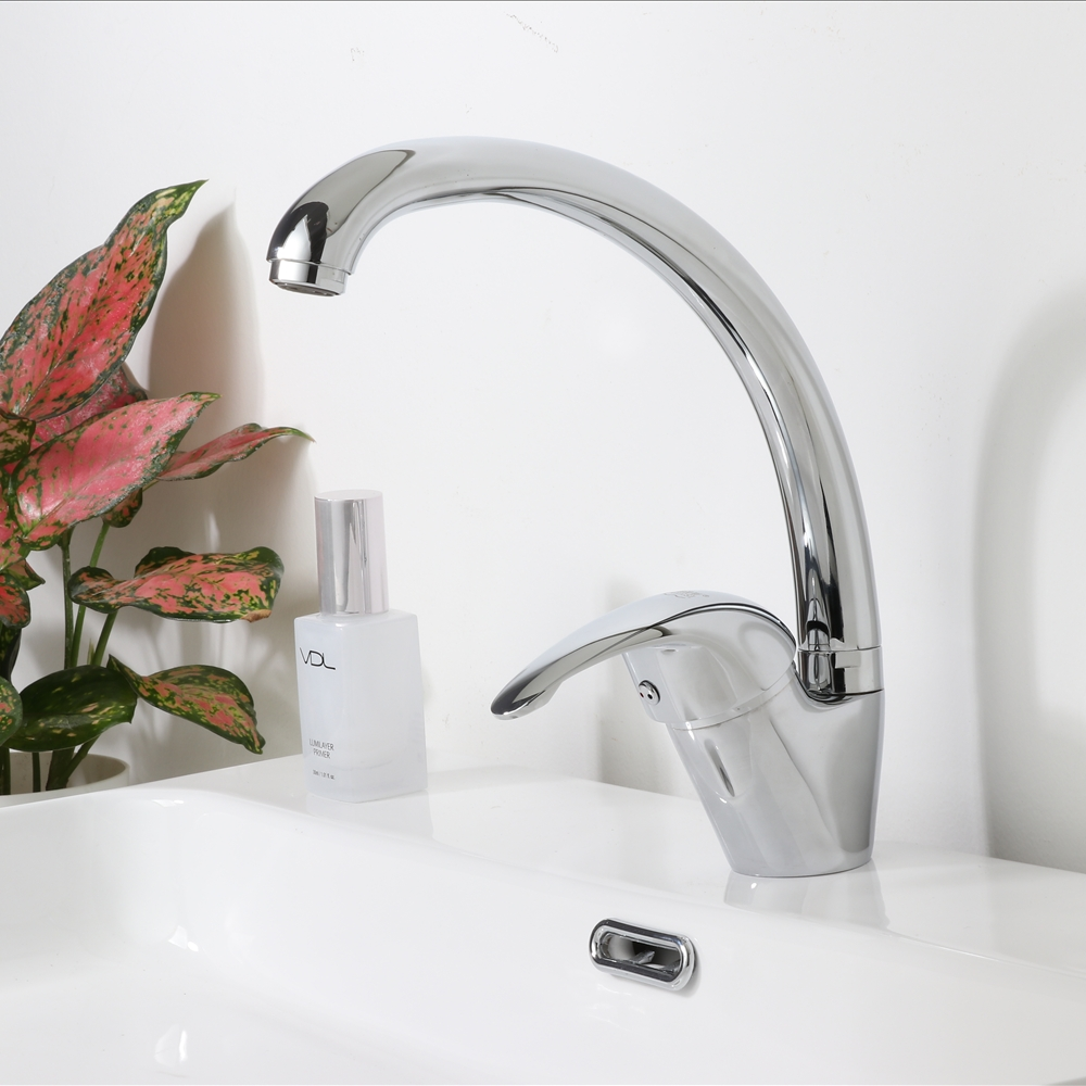 Kitchen Faucet Modern Style Home Cold And Hot Water Tap Single Handle Kitchen Faucets