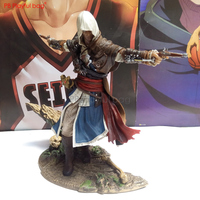 Playful bag Assassin Edward Kenway model figure Black Flag Assassin Game collections Hot action figure Best gifts & pvc toy HF03