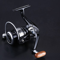 JX2000-7000 13BB Fishing Reel With A Metal Tip With A Texture In The Handle For The Spinning Reel Fishing Wheel Stream