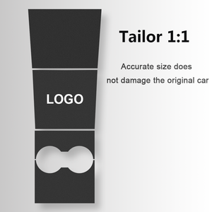 Image 3 - Supcon kol dayama süet deri koruyucu Film 2019  2020 Tesla Model 3 merkez konsolu dekoratif Sticker araba aksesuarları