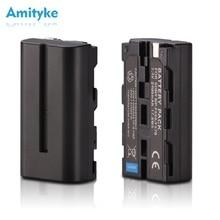 цена на NP-F550 NP-F570 Digital Camera Battery 7.4V 2600mAh NP-F330 NP-F530 Chargeable Lithium ion For Sony CCD-SC55 CCD-TRV81 MVC-FD81