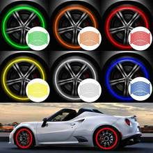 Decals Car-Styling-Accessories 2pcs 18-Strips Rim-Tape Motorcycle-Wheel-Stickers Bike