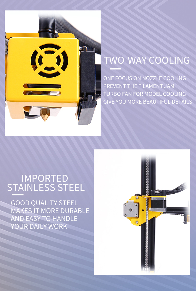 Sunhokey Sirius High Accuracy Semi DIY 3D Printer