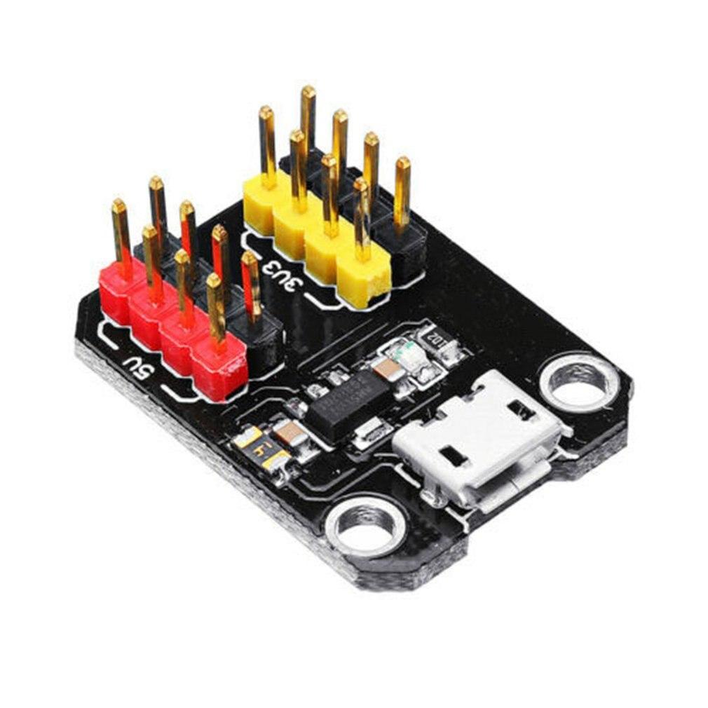 Power Module Usb Power Supply Module Micro Usb Interface 3.3V 5V 1117 Chip Ez-Usb Power Supply Module