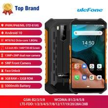 Android 10 4g lte мобильный телефон ulefone armor x5 смартфон