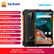 Android 10 4G LTE Mobile Phone Ulefone Armor X5 Smartphone M