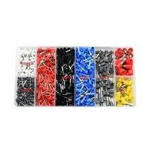 1200 шт набор наконечников для кабелей