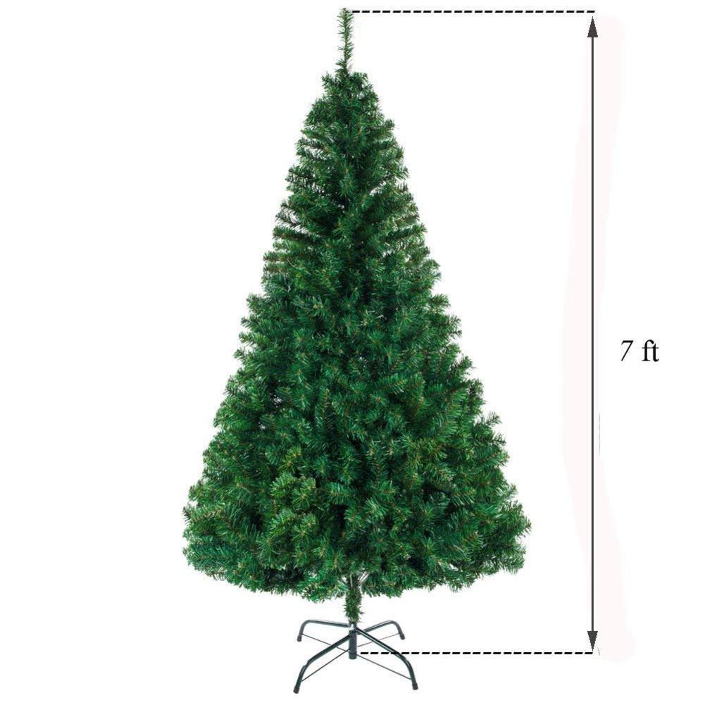 7 футов 1100 ветка Рождественская елка прочная и долговечная шифрование Рождественская елка украшение - 4
