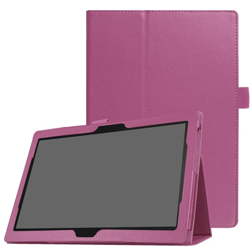 Slim Folded Stand Flip Cover for <font><b>Lenovo</b></font> Tab P10/M10 10.1 Case Model TB-X705L <font><b>X705F</b></font> X605L X605F PU Leather Capa Tab M10 10.1 Case image