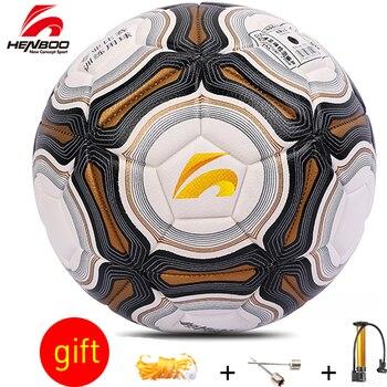 HENBOO Größe 4 Size5 Fußball Ball Offizielle Ziel League Ball Training Ball Fußball PVC Butyl Innere Blase Outdoor Sport