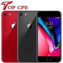 Apple – authentique smartphone iPhone 8, téléphone portable, 2 go de RAM, 64 ou 256 go, hexa-core, IOS, tactile 3D, caméra 12 mp, écran 4.7 pouces, empreintes digitales