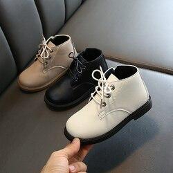 Buty dla malucha 2019 zima dzieci chłopcy dziewczęta śnieg buty miot ciepłe wodoodporne skórzane trampki dla chłopca|Buty|   -