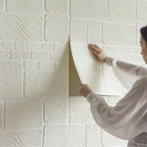 70*70CM 3D Brick Wall Stickers