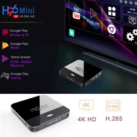 android 4 2 RK3228A H96 MINI H8 smart tv set top box H.265 Android 9.0 2.4G/5G WiFi Bluetooth 4.0 Youtube Google Player H96 max smart tv box (3)