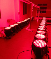 2pcs/lot LED par light 54X6W RGBW DMX Channel DMX 512 Windmill pattern DJ party 54x6w Warm White DJ Wash Light Stage