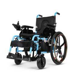 Best sell high quality portable electric wheelchair with big motor for handicapped
