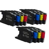 LC73 LC75 LC400 LC1240 Substituição de Cartuchos de Tinta Para O Irmão MFC-J710D MFC-J710DW MFC-J432W MFC-J6910DW Impressora Jato de tinta