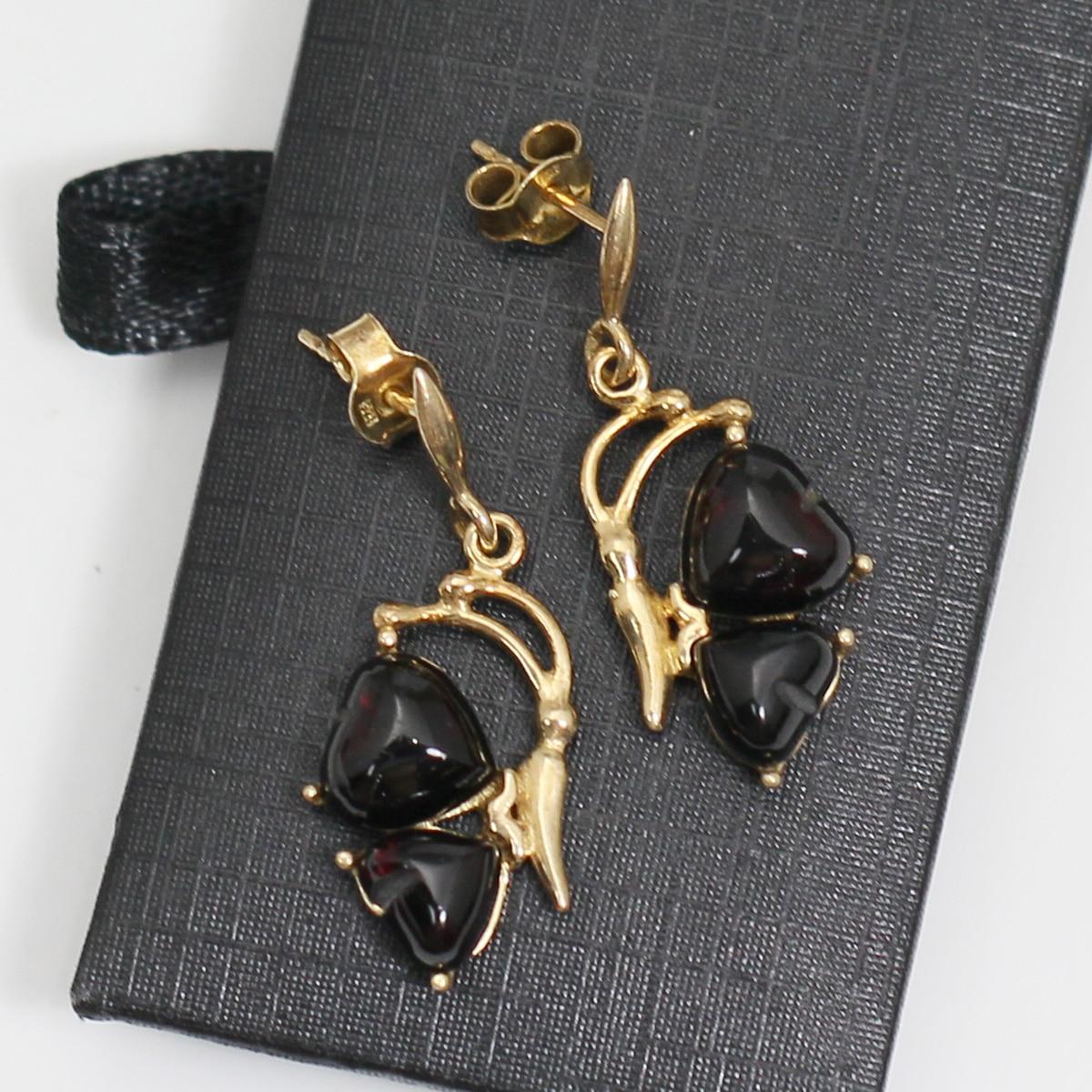 Beadsnice ID39759 or rempli boucle d'oreille fête des mères cadeau bijoux boucles d'oreilles pour les femmes - 3