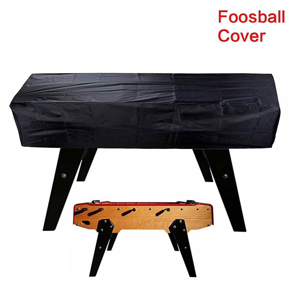 Foosball Table Cover Protective Outdoor Waterproof Scratch Resistant Durable Rectangular Chair Billiard Soccer Coffee Dust Proof