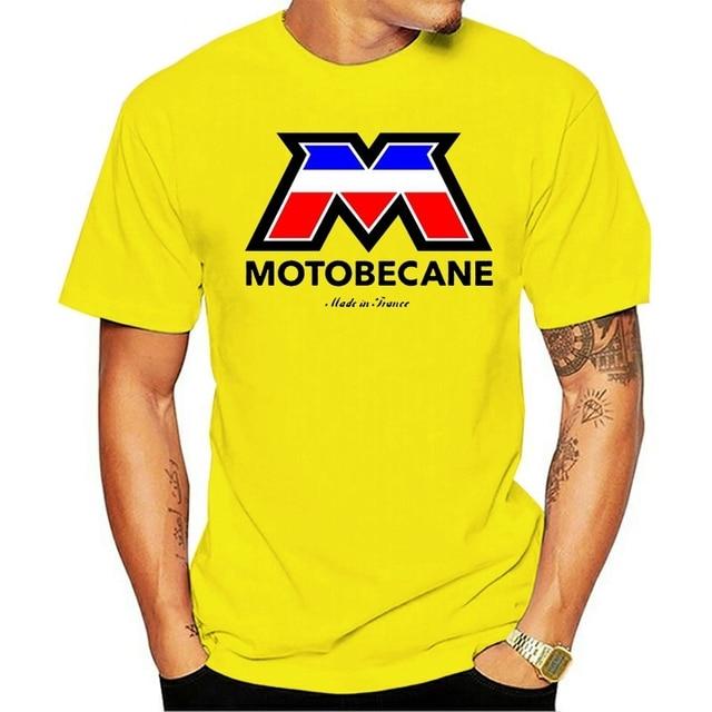 T-shirt mobylette motobecane coton manches courtes fabriqués en France 1