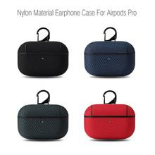 Nylon Cover Case For Apple Airpods Pro Case Bluetooth Case For Air Pods Pro Earphone Accessories Skin High Quality Case tanie tanio CN (pochodzenie) Etui na słuchawki For Airpods Pro Other High Quality Nylon waterproof material
