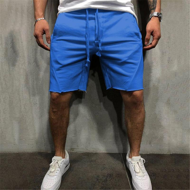 Men Hip Hop Shorts Men's Loose Short Trousers Fitness Bodybuilding Jogger Mens Brand Durable Sweatpants Fitness Workout Short