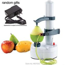 Multifuncional elétrica descascador de batatas descascador de frutas e vegetais ferramentas acessórios de cozinha gadgets automático máquina gadget